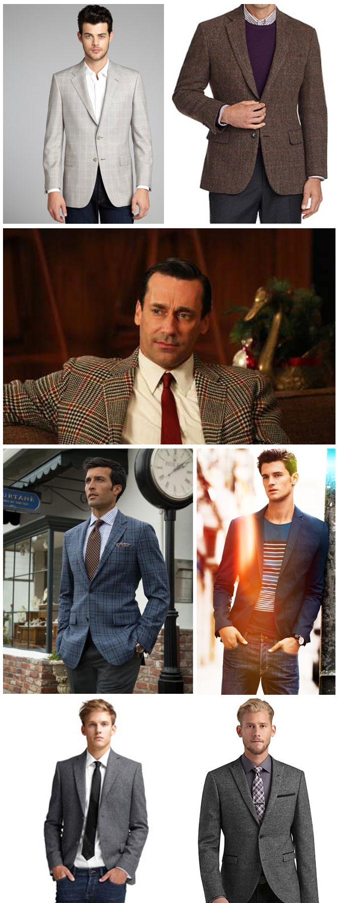 How to style sport coats compilation