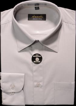 grey dress shirt for men