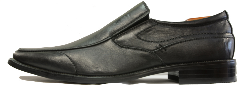 The Oxford London A01003 dress shoes are a slip on black ...