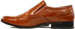 Men's Tan brown Dress Shoes - Enrico Brindisi Shoes