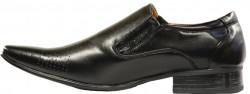 Men's Black Wingtip Dress Shoes