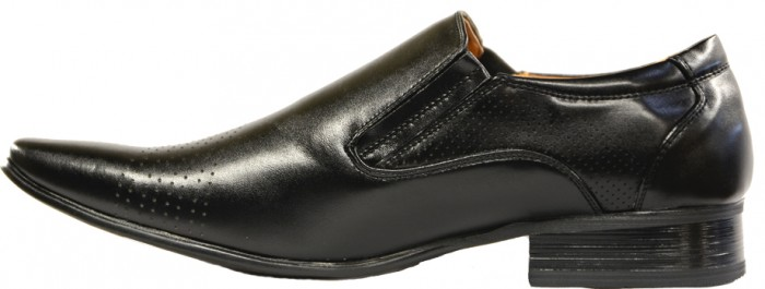 Men's Black Wingtip Dress Shoes