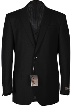 Men's Black Vitarelli Suit
