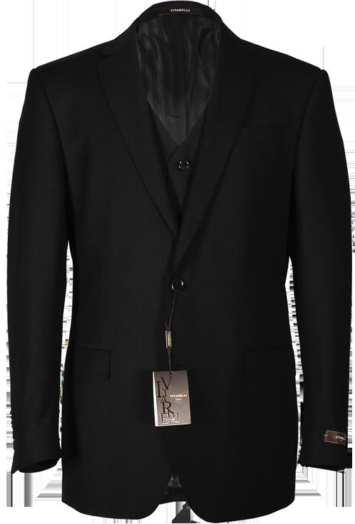 Men's Black Vitarelli Suit